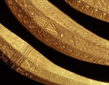 Gouden halsringen uit Olst © Rijksmuseum van Oudheden