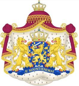 Je maintiendrai (ik zal handhaven), de wapenspreuk van Nederland