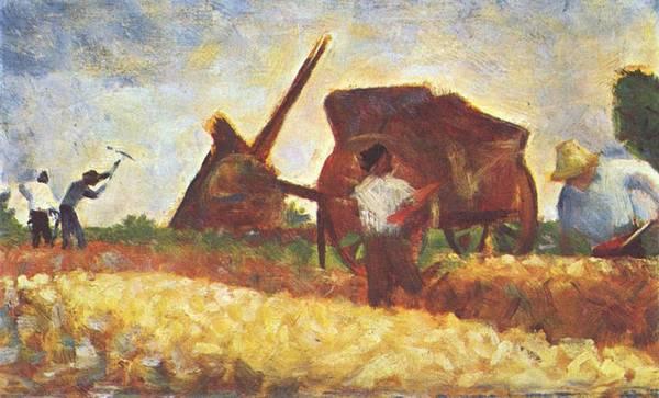 Les Terrassiers - Georges Seurat, ca. 1883