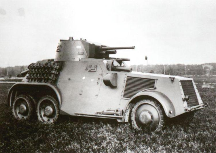Pantserwagen M.38 (foto: www.grebbeberg.nl)