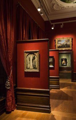 Een van de zalen van het museum (Ivo Hoeksta - Mauritshuis)