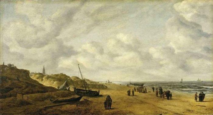 Het schilderij zonder de walvis (Fitzwilliam Museum)