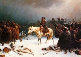 Napoleons terugtrekking uit Moskou - Adolphe Northen, 1812