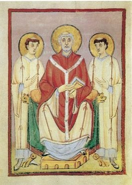 Zendeling Willibrord (658-739), de eerste bisschop van Utrecht
