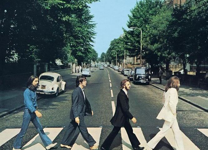 Abbey Road, de beroemde albumcover