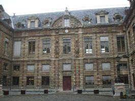 Palais Mazarin, waar tegenwoordig de Nationale Bibliotheek van Frankrijk is gevestigd - cc