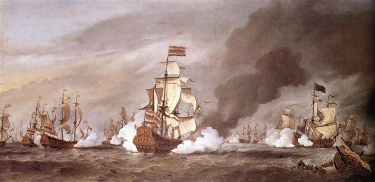 Slag bij Kijkduin - Willen van de Velde de Jonge