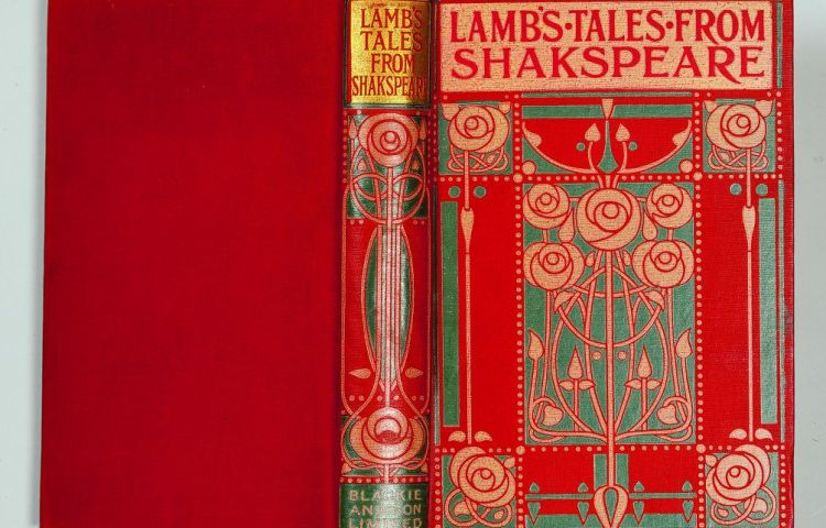 Talwin Morris (1865-1911) en de Art nouveau band Charles Lamb, Tales from Shakspeare; designed for the use of young people, London, Glasgow, Bombay (Blackie and Son Limited, 1894)