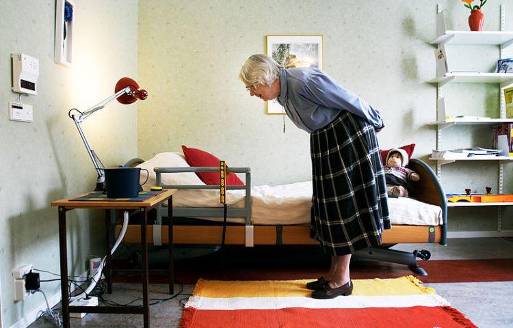 Bejaarde vrouw (cc - Magnus Fröderberg)