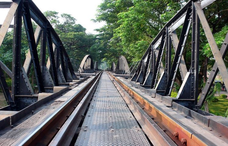 De brug over de Kwai rivier - cc