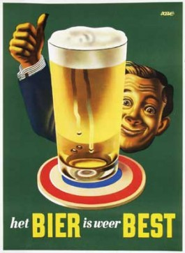 Het bier is weer best