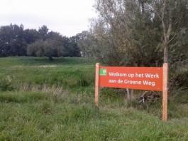 Het terrein van Werk aan de Groeneweg wordt beheerd door Staatsbosbeheer. (Kevin Prenger)