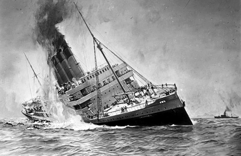 Ondergang van de Lusitania