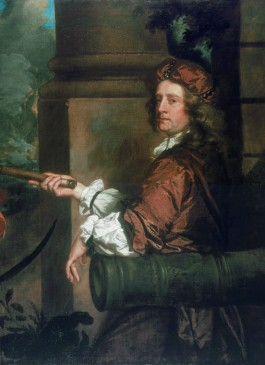 Sir Robert Holmes (Peter Lely, detail)