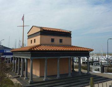 Tempel van Nehalennia op Colijnsplaat - cc