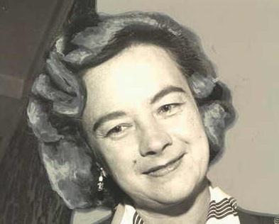 Geraldine 'Jerrie' Mock in 1964 - cc