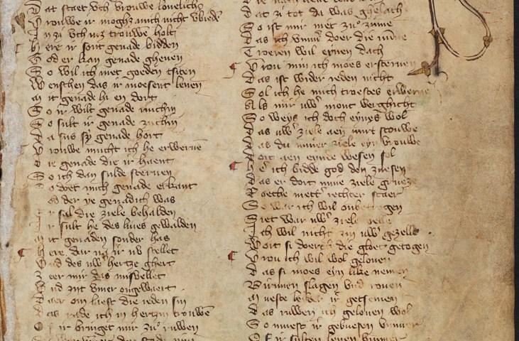 Haags Liederenhandschrift, ca. 1400