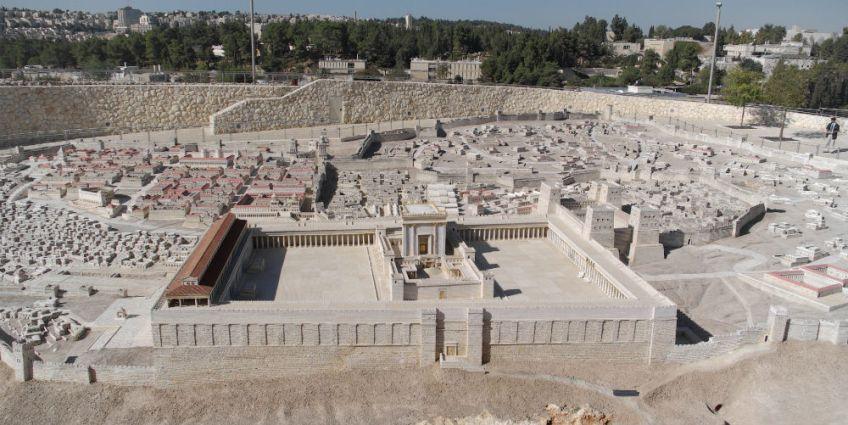 Maquette van de Joodse tempel - cc
