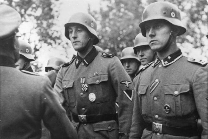 Soldaten van de Waffen-SS