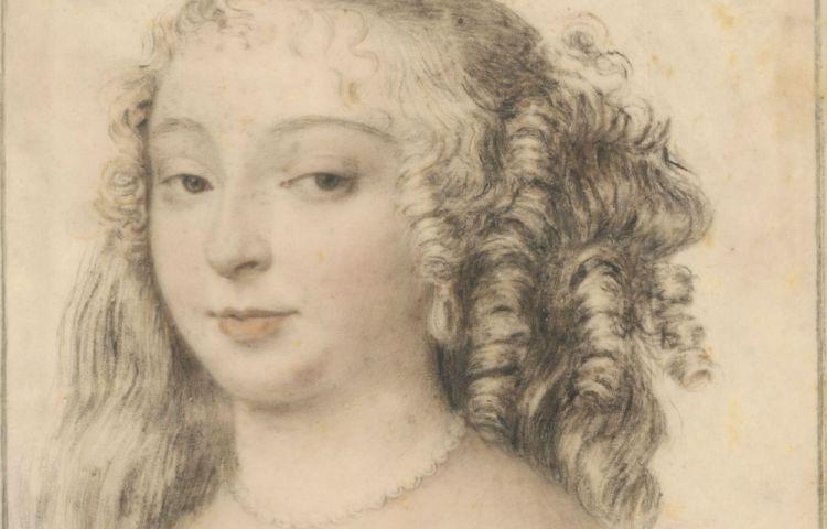 Tekening van Huygens (Rembrandthuis)