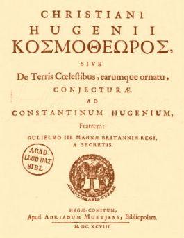 Cosmotheoros van Huygens