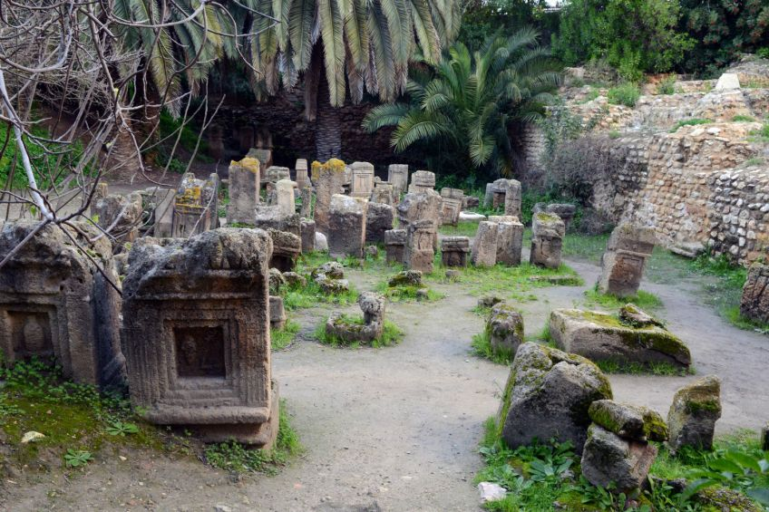 De Tophet, de beroemdste begraafplaats van Carthago Foto: Rijksmuseum van Oudheden