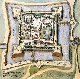 Castrum Novum Gandavense. De Sint-Baafssite als onderdeel van het 'spanjaardenkasteel' - cc