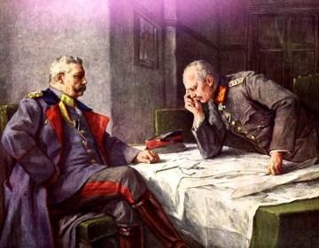 Hindenburg en Ludendorff