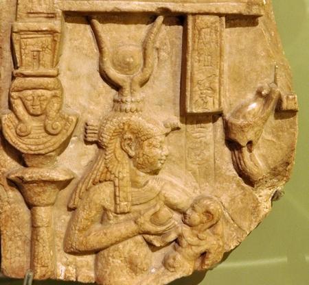 Isis en Horus (Allard Piersonmuseum, Amsterdam)