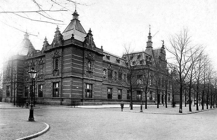 Oude foto van het Stedelijk Museum - cc