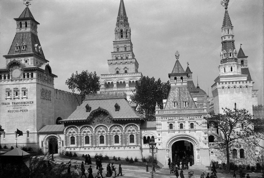 Het Russische Azië-paviljoen, Parijs 1900 (collectie Arjan den Boer)
