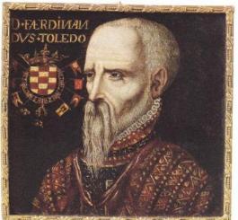 De hertog van Alva, vermoedelijk toen hij in de Nederlanden verbleef. (Onbekende kunstenaar)