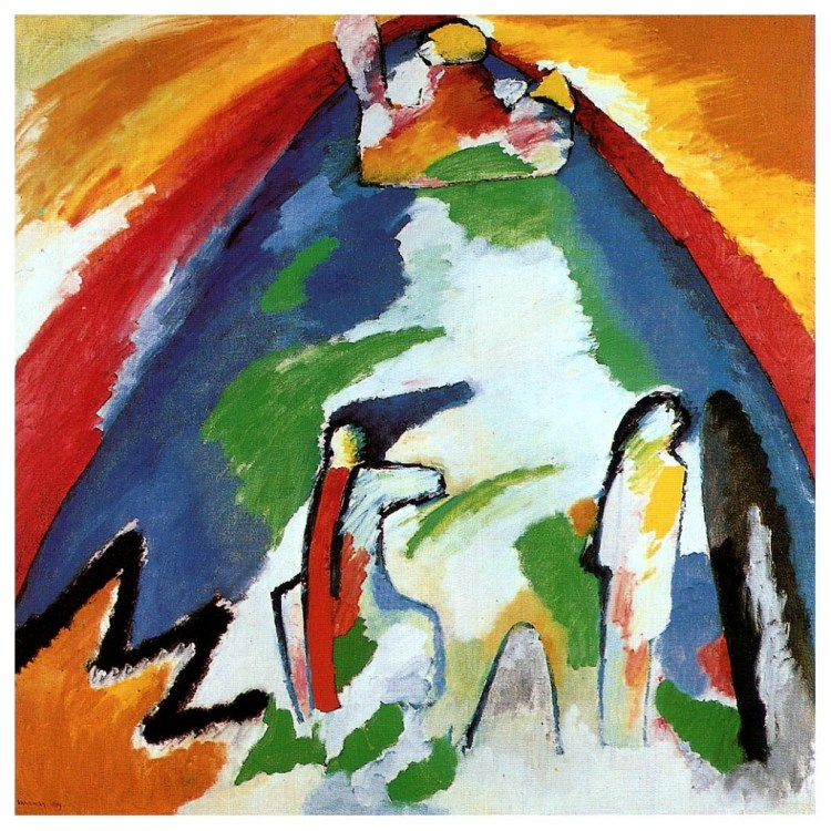 Berg - Kandinsky, 1909
