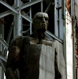Detail van het monument in Sofia
