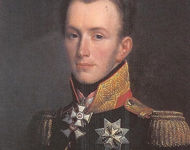 Willem II met zijn onderscheidingen