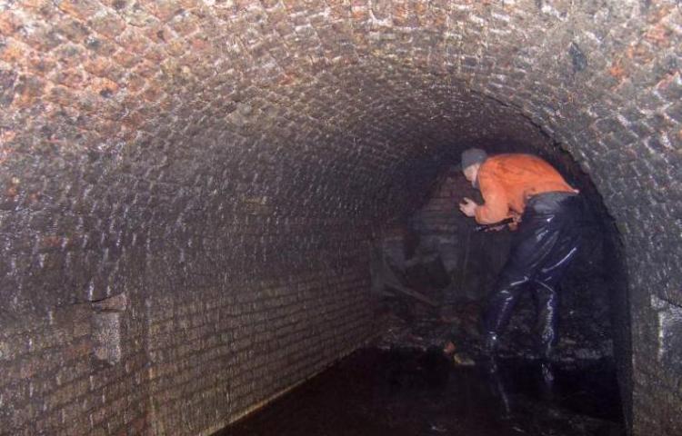 Eeuwenoude ondergrondse gangen ontdekt in Hoorn (Gemeente Hoorn)