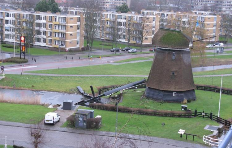 Geestmolen in Alkmaar (Twitter)