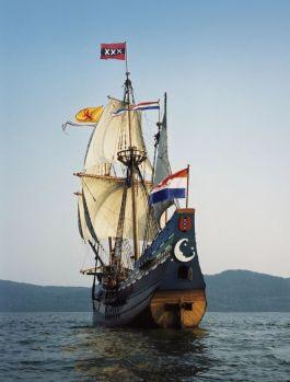 Replica van de Halve Maen (Gemeente Hoorn)