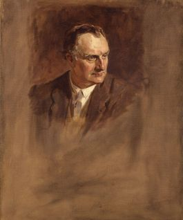 Portret van Sir Edward Grey ( James Guthrie, circa 1924–1930)