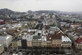 Uitzicht over de stad Lviv (Lviv, stad van paradoxen)