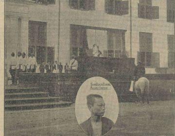 'De handhaving van de doodstraf in Ned-lndië' in Het nieuws van den dag voor Nederlandsch-Indië 20-01-1919. (Delpher)