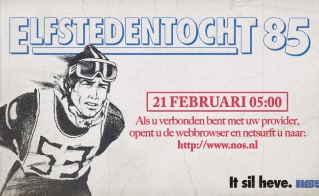 Nos Zendt Verslag Elfstedentocht 1985 Opnieuw Uit Historiek