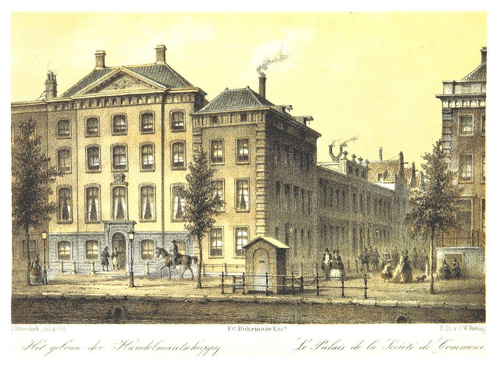 Voormalig hoofdkantoor van de Nederlandsche Handel Maatschappij (cc - British Library)