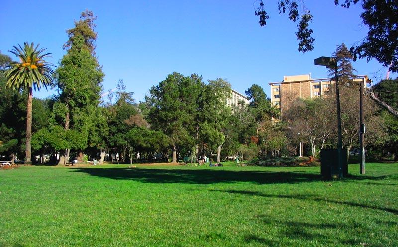 People's Park in Berkeley vandaag de dag - cc