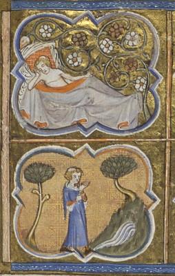 Guillaume de Lorris en Jean de Meun, Le roman de la rose. Handschrift op perkament. Frankrijk, omstreeks 1370. [10 B 29]