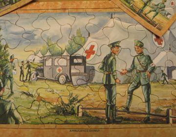 Puzzel uit de mobilisatie-tijd