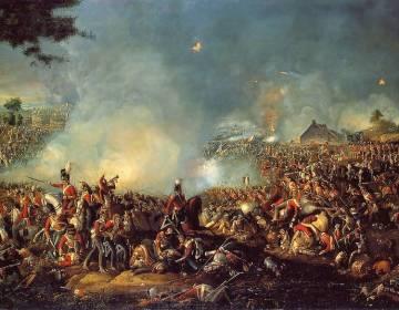 Slag bij Waterloo volgens Sadler