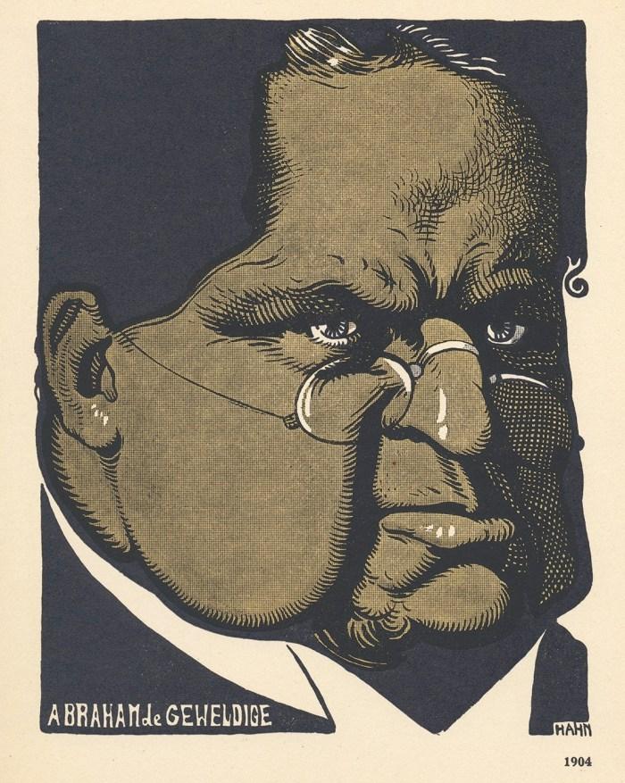 Albert Hahn sr., Abraham de Geweldige, 1904.