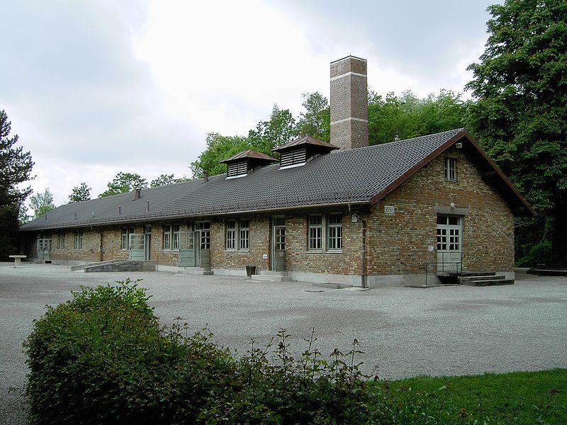 Crematorium van Dachau - cc