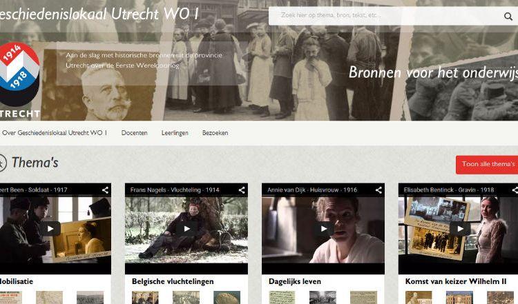 Geschiedenislokaal Utrecht WO1